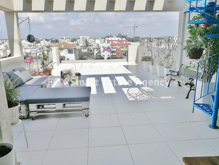 MODERN STYLISH 3 BEDROOM PENTHOUSE WITH ROOFGARDEN AT THE LUXURY AREA OF PERNERA
