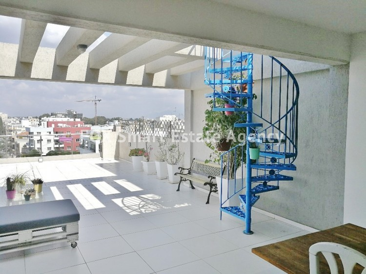 MODERN STYLISH 3 BEDROOM PENTHOUSE WITH ROOFGARDEN AT THE LUXURY AREA OF PERNERA 3