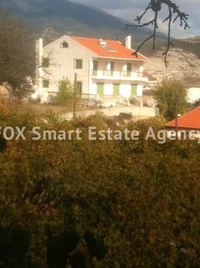 For Sale 4 Bedroom  House in Omodos, Limassol