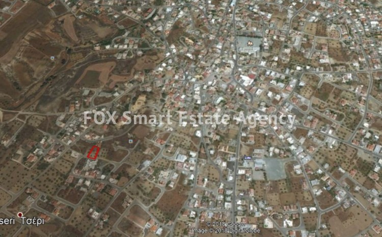 For sale residential land  1,032sq.m. in Tseri