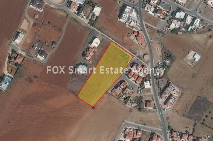 For Sale Residential Land 7,674sq.m in Lakatameia, Nicosia