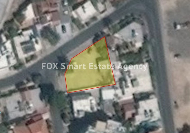 For Sale Residential Plot 632Ssq.m in Agios Vasilios, Strovolos, Nicosia