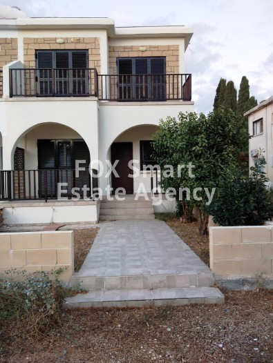 For Sale 2 Bedroom Semi-detached House in Kato pafos , Paphos
