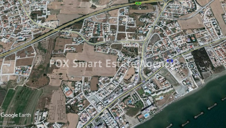 Plot of ± 750m² for Sale in Oroklini, Larnaca. Less than 1km from the beach.