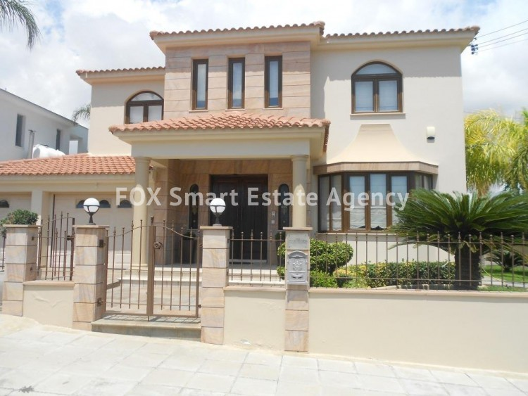For sale Luxury four bed detached house in Agios Fanourios