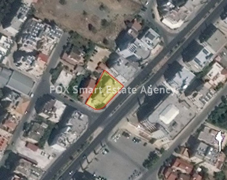 For Sale Commercial Plot 634sq.m in Strovolos