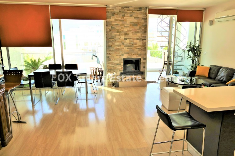 apartment for sale in nicosia with fire place