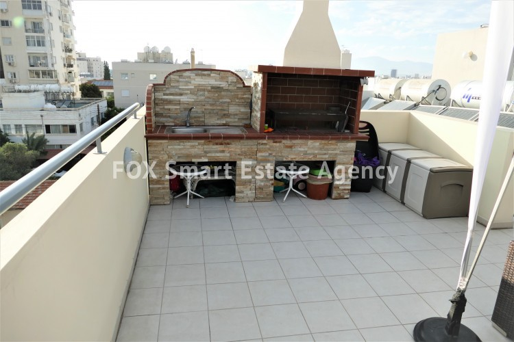 apartment for sale in nicosia with roof garden