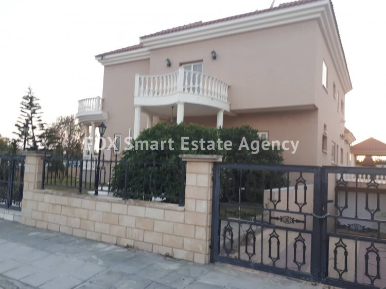 For Sale 5 Bedroom Detached House in Agios fanourios, Larnaca