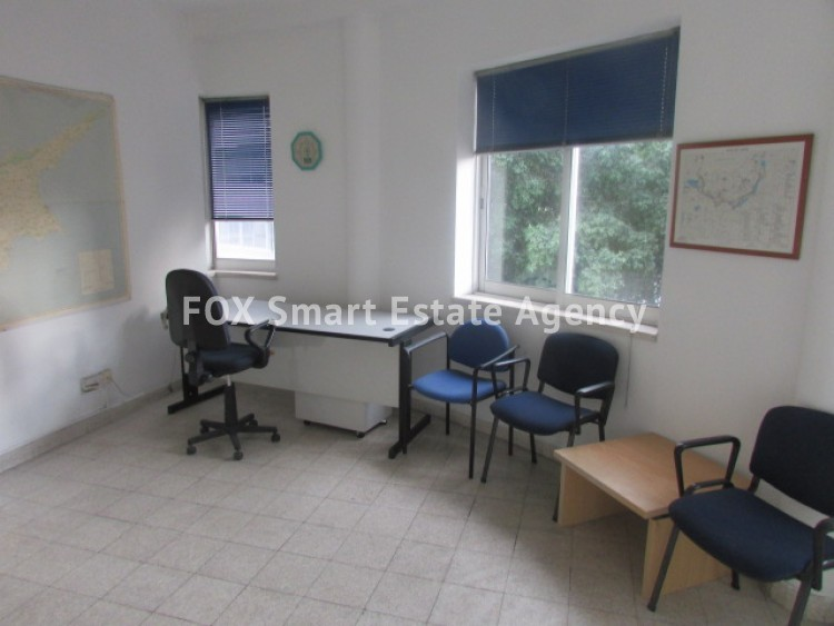 For Rent 95sq.m Office Space in Nicosia Centre 3