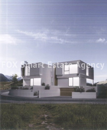 For Sale Under Construction 3 Bedroom Detached House in Geri, Nicosia