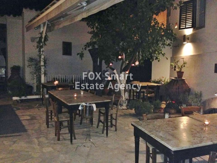 Fully equipped old refurbished mansion with license for restaurant 15 minutes from Nicosia 21 10