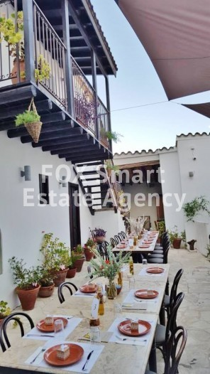 Fully equipped old refurbished mansion with license for restaurant 15 minutes from Nicosia 6