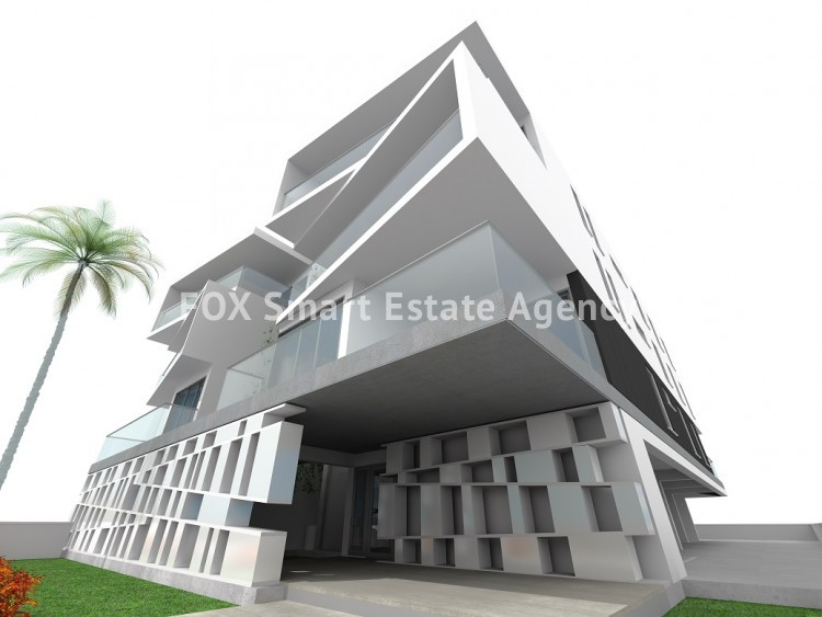 Unique modern style 3 bedroom Penthouse No. 301 almost finished at Ayios Andreas 8