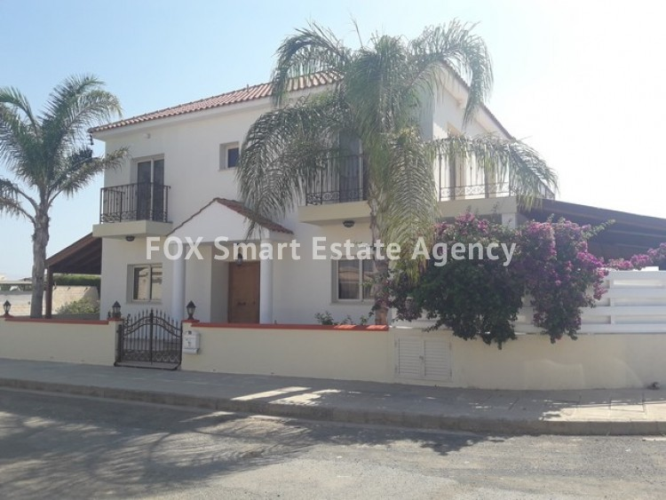 For Sale 3 Bedroom Detached House with large plot of land in Derynia, Famagusta