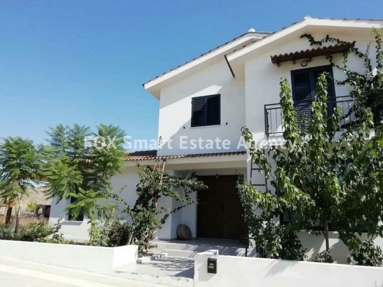 To Rent 4 Bedroom Detached House in Sia, Nicosia