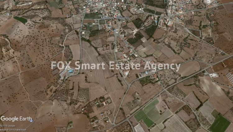 Large Residential Plot of ± 1400m² for Sale in Mazotos, Larnaca