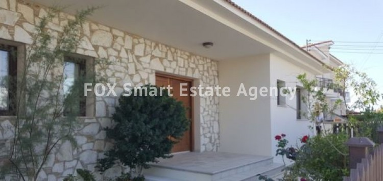 For Sale 4 Bedroom Bungalow (Single Level) House in Apostolos loukas , Larnaca