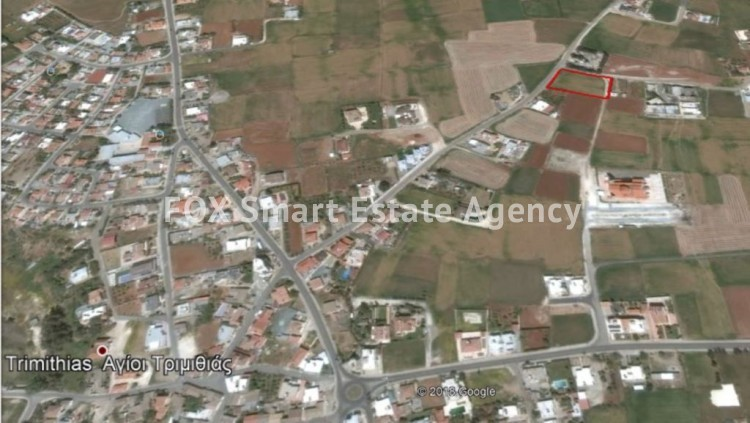 For sale 2865 sq. meters Residential Land in Agioi Trimithias