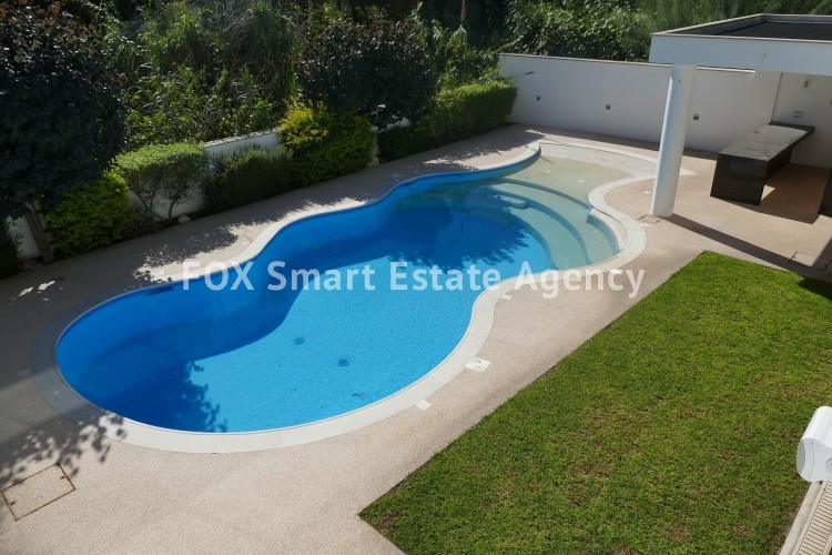 For Sale 4 Bedroom Detached House with swimming pool in Aglantzia, Nicosia 13