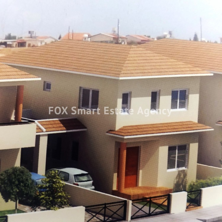 3 Bedroom Under Construction House, with a large back yard, For Sale in Aradippou-Livadia