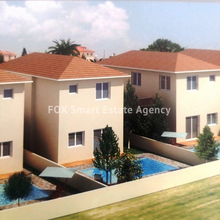 3 Bedroom Under Construction House, with a large back yard, For Sale in Aradippou-Livadia 2
