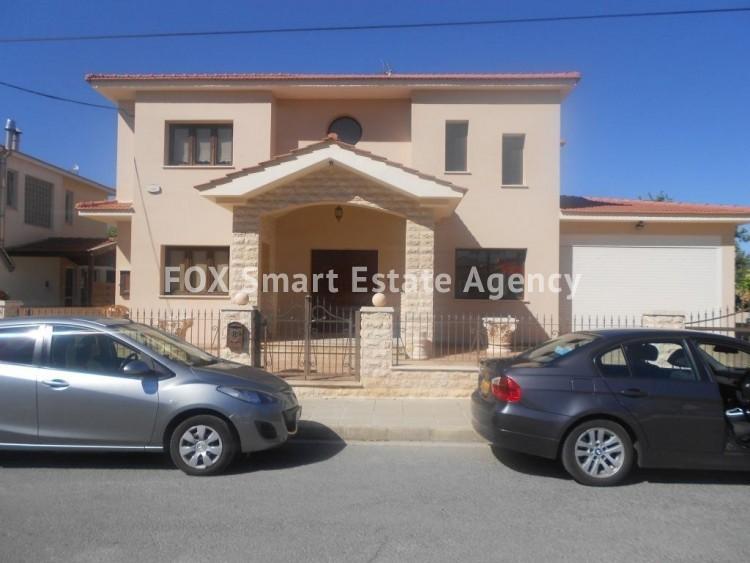 For Sale 4 Bedroom Detached House in Agios fanourios, Larnaca