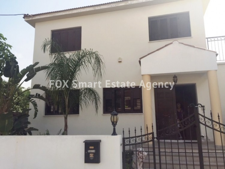 FOR SALE SEMI-DETACHED 3-BEDROOM HOUSE IN ENGOMI, NICOSIA