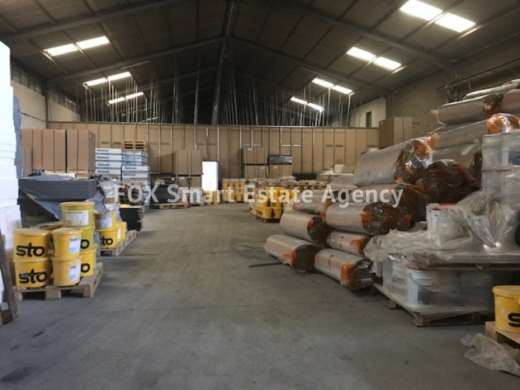 Industrial Warehouse / Factory in Agios athanasios, Limassol