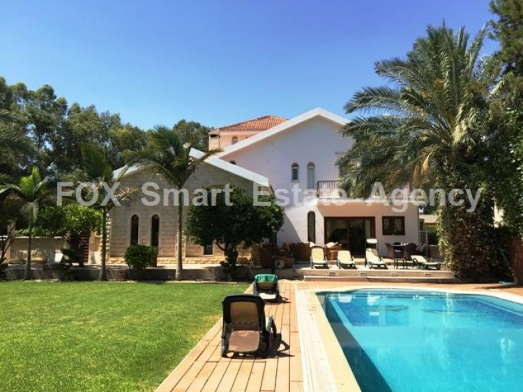 For Sale 5 Bedroom Detached House in Strovolos  2