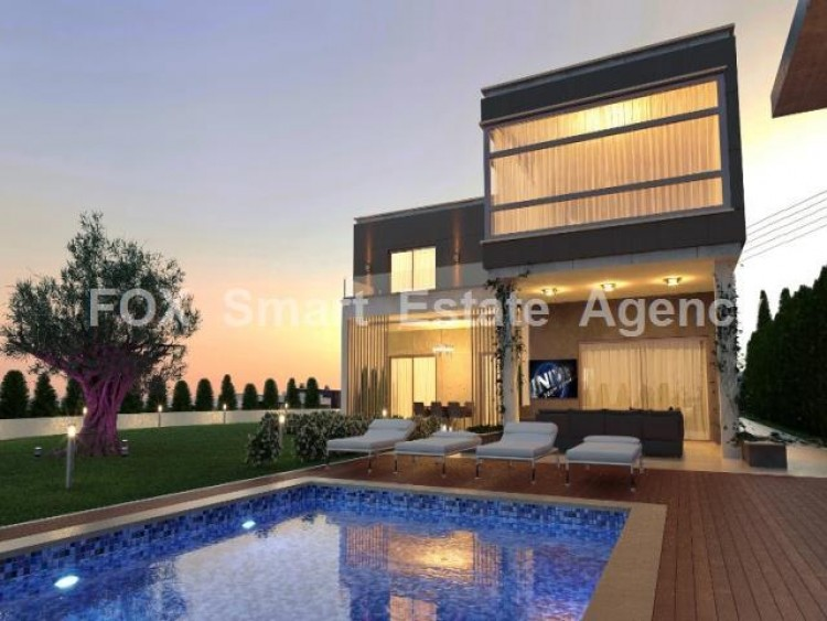 For Sale 4 Bedroom Detached House in Mouttagiaka, Limassol