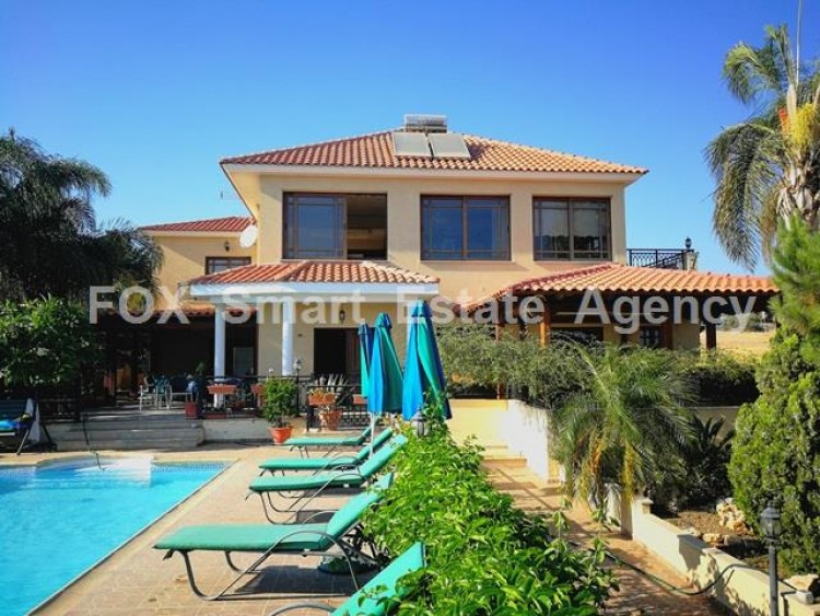 For Sale 4 Bedroom Detached House in Potamos germasogeias, Limassol