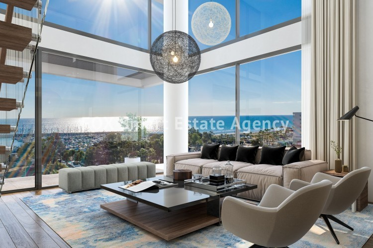 Luxury, Penthouse, Sea View, 3 Bedroom Apartment For Sale,  in Larnaca Makariou area 6