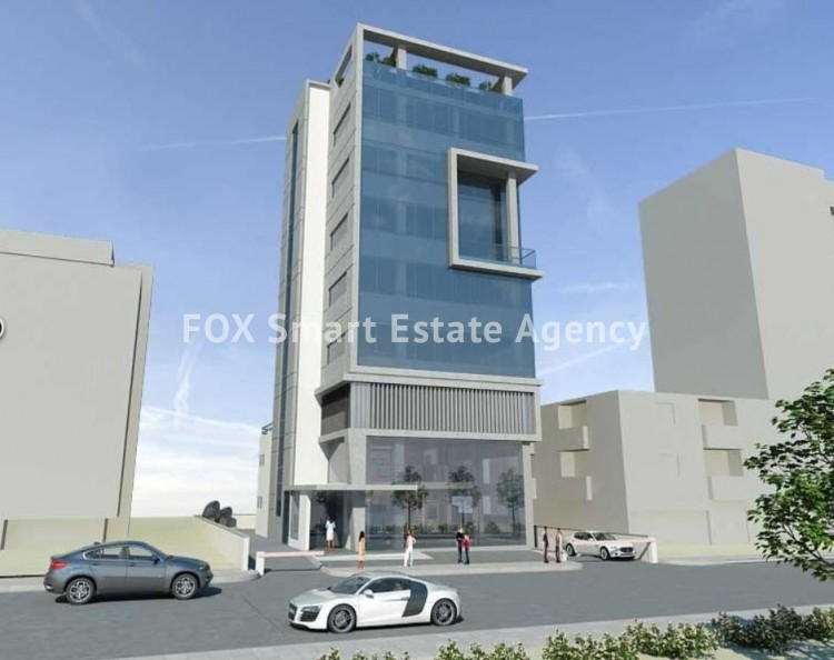 For Sale 1400sq.m Commercial Building in Dasoupolis, Strovolos, Nicosia 2