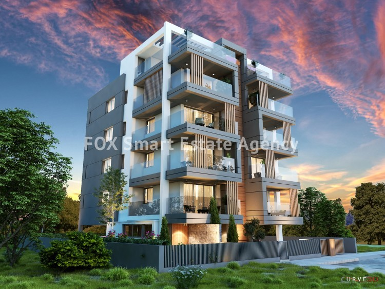 Luxury Under Construction 2 Bedroom Apartment For Sale,  in Sotiros Larnaca