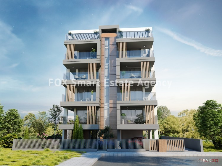 Luxury Under Construction 2 & 1 Bedroom Apartment For Sale,  in Sotiros Larnaca 4