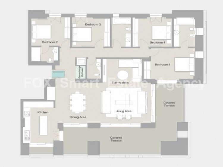 For Sale 4 Bedroom Apartment in Limassol, Limassol 8