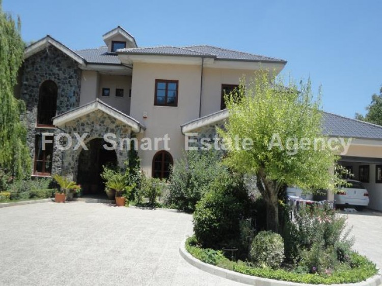 For Sale 5 Bedroom Detached House in Pera pedi, Limassol