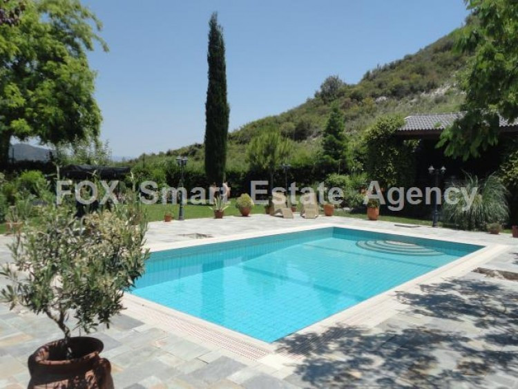 For Sale 5 Bedroom Detached House in Pera pedi, Limassol 18