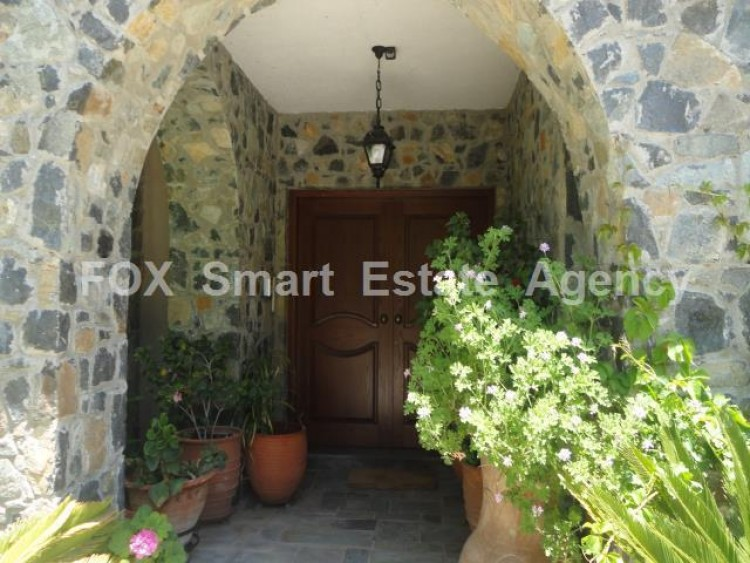 For Sale 5 Bedroom Detached House in Pera pedi, Limassol 8